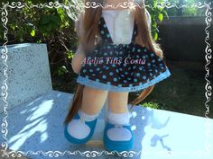 Boneca de pano Ateliê Titis Costa