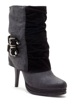 Must-Have Fall Wedges Carrini Contrast Foldover Boot on HauteLook