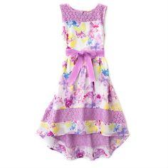 Lace Butterfly Dress!