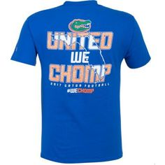 Champion Men's University of Florida 2017 Football Fan T-shirt (Blue, Size Large) - NCAA Licensed Product, NCAA Men's Tops at Academy Sports