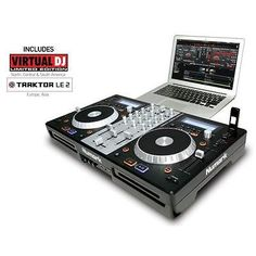 Numark Mixdeck Express DJ Controller with CD and USB Playback - http://musical-instruments.goshoppins.com/pro-audio-equipment/numark-mixdeck-express-dj-controller-with-cd-and-usb-playback/