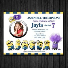 Party Time Decor Custom Printable Birthday Invitations And Decorations