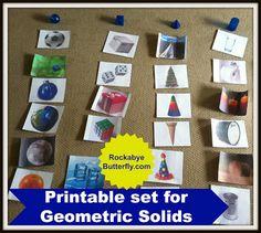Rockabye Butterfly: Geometric Solids
