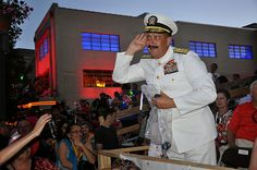 100424-N-3750S-035 SAN ANTONIO (April 24, 2010) Rear Admiral Albert Garcia III, Civil Engineer Corps deputy commander, Naval Facilities Engineering Command, deputy chief of Civil Engineers (right) taunts the crowd before he tosses tiny, navy blue foo YBC offers your company a free onsite consultation that will provide you with helpful decision-making information that our clients, including many Fortune 500 companies, already know