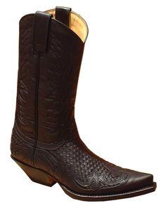 Sendra 3241 black-tr. Western Boots