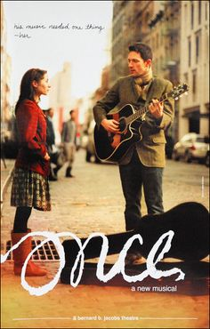 Once the Musical Broadway. looks so interesting! All of the music is played live on stage by the actors Broadway Plays, Broadway Theatre, Broadway Shows, Glen Hansard, Theatre Geek, Music Theater, Broadway Posters, My Escape, Music Love