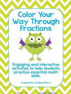Five coloring pages! *Adding and Subtracting Fractions *Multiplying and Dividing Fractions *Adding and Subtracting Mixed Numbers *Multiply and Divide Mixed Numbers *Converting Fractions to Decimals