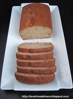 La vetrina del Nanni: Pear Bread with Homemade Baking Powder