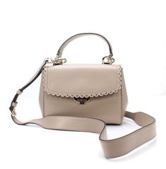 024da8ca5ede08 Details about Michael Kors NEW Pink Scalloped Ava X-Small Top Handle  Crossbody Purse $228-#062