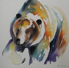 bear painting by: Faith Harckham Link to albertaonline.