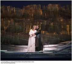 Susan Graham (Merola 1987) and Bryan Hymel (Merola 2001) in Berlioz' Les Troyens (Met Archives)