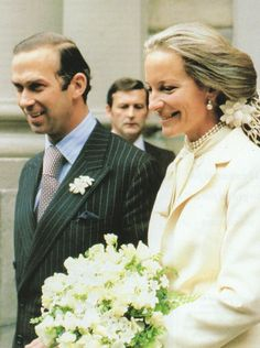 Miss Honoria Glossop:  Prince and Princess Michael of Kent-Wedding in Vienna 1978.