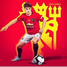 Man Utd Fc, Manchester United Wallpaper, Manchester United Players, Sports Wallpapers, Man United, Cartoon Wallpaper, Caricature, Soccer, The Unit
