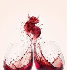Aurora - Marcus James by Miagui Imagevertising , via Behance wine / vinho / vino mxm Wine Advertising, Creative Advertising, Advertising Design, Wine Photography, Advertising Photography, Illusion Photography, Digital Photography, Wine Design, Bottle Design