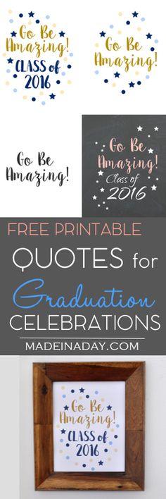 Graduation Free Prin