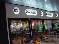 Letrero luminoso en barcelona