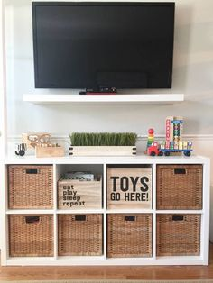 - Family room toy storage ideas Best Picture For diy room hippie For Your Taste You are looking for - Living Room Toy Storage, Ikea Toy Storage, Baby Toy Storage, Playroom Storage, Small Space Storage, Bedroom Storage, Storage Ideas, Storage Baskets, Toy Rooms