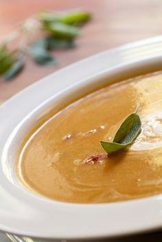 Harvest Bisque: Butternut Squash Soup with orange and ginger- Sukkot Recipe