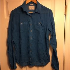 Top Sheer button up Aeropostale Tops Button Down Shirts