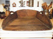EARLY 1800'S ANTIQUE PRIMITIVE DOUGH NOODLE BREAD CHOPPING CUTTING PASTRY BOARD