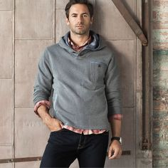 I would love to see my Hubby in this outfit very casual, looks great