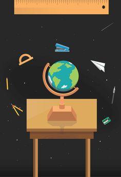 Back to School by YouWorkForThem, via Behance