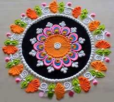 Rangoli is a conventional Indian art of decorating the entrance to a residence. Here are 50 most attractive looks Of Rangoli design for Diwali Rangoli Designs Peacock, Rangoli Photos, Easy Rangoli Designs Diwali, Rangoli Designs Latest, Simple Rangoli Designs Images, Free Hand Rangoli Design, Rangoli Border Designs, Small Rangoli Design, Rangoli Patterns