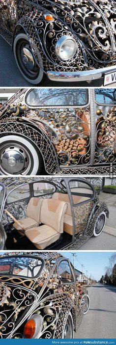 Incredible bug body from a croatian metalwork shop