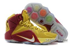 http://www.getadidas.com/lebron-12-gold-yellow-red-topdeals.html LEBRON 12 GOLD YELLOW RED TOPDEALS Only $87.04 , Free Shipping!