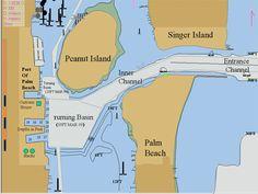 Singer Island Florida Map.20 Best Peanut Island Florida Images Palm Beach County Peanut