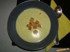 Krémová brokolicová polievka