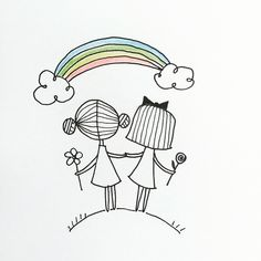 Doodle Drawings, Cartoon Drawings, Easy Drawings, Embroidery Patterns, Hand Embroidery, Doodle People, Doodle Girl, Easy Doodle Art, Simple Doodles