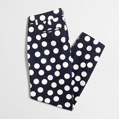 Factory printed skimmer pant : Relaxed | J.Crew Factory