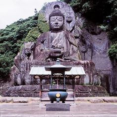 Biggest Buddha in Japan: Nihonji Temple, Nokogiriyama