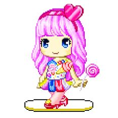 fantage lolipop girl aka fantage candy gal not country gal