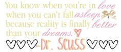 Love Dr. Seuss