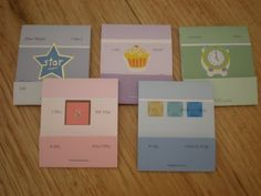 paper crafting ideas - Google Search great idea for paint sample cards!