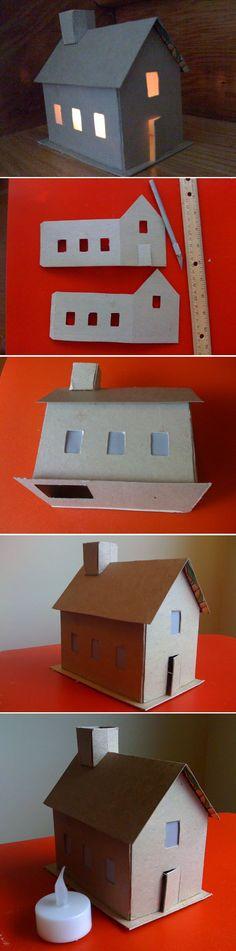 Construire une maison en carton