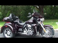 ▶ New 2014 Harley Davidson Tri Glide Trike for sale - Brandon, FL - YouTube