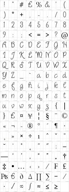 Quirlycues Font · 1001 Fonts