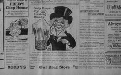 The Owl Drug Store..........The Chickasha daily express. (Chickasha, Indian Territory [Okla.]) 1899-current, June 10, 1916