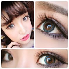 LILMOON colored contact lenses from EyeCandy's. Available in both non prescription and prescription. FREE Shipping
