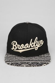 American Needle Geo Brooklyn Snapback Hat (should be a Detroit had though) Ropa Hip Hop, Dope Hats, Flat Bill Hats, Brooklyn, Head Accessories, Fitted Caps, Beanie Hats, Beanies, Snap Backs