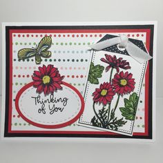 Heart Cards, Close To My Heart, Stamp Sets, Flower Cards, Stampin Up Cards, Note Cards, I Card, Handmade Cards, Cardmaking