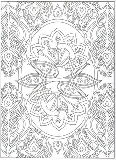 Peacock coloring page 17/31