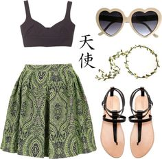 """""""Ethnic prints (2)"""" by inesfranco ❤ liked on Polyvore"""