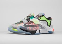 The Nike 'KD7 What The' Merges Together 18 Different Shoe Designs #shoes trendhunter.com