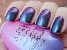 nailXchange: NOTD: Sally Hansen Wildfire Opal