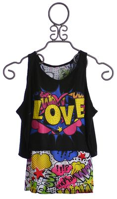 Flowers By Zoe Love Girls Summer Top $48.00