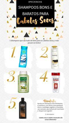 shampoo bom e barato para cabelos secos